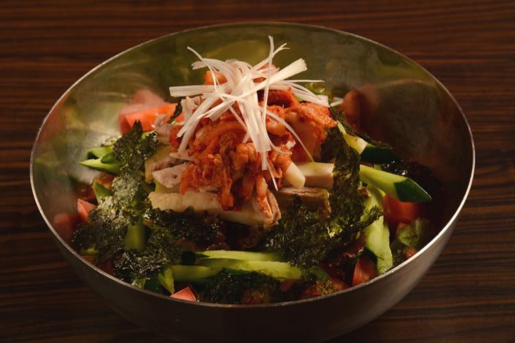 ポッサム(茹でた豚肉)サラダ